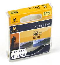 DIFOX Sperrfilter FILTER UV (0) HQ DIGITAL 55mm M55 Schraubfassung (O4073