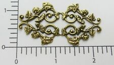 25023 Victorian Ornament Jewelry Finding Brass Oxidized
