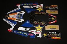 YAMAHA YZ125 - YZ250 2006-2014 ROCKSTAR MX GRAPHICS KIT STICKER KIT STICKERS