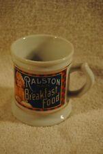 1982 RALSTON BREAKFAST FOOD The Corner Store Porcelain Mug Collection MINT