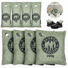 8 Bags Air Purifying Bag Purifier Nature Fresh Charcoal Bamboo Mold Freshener US