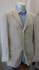 giacca jacket uomo puro lino Boglioli taglia 48