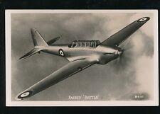 Aircraft Air Force Military RAF FAIREY BATTLE Aircraft Valentine RP PPC