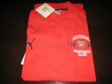 ARSENAL PUMA POLY/COTTON POLO SHIRT TAGS/PACKET XL