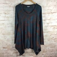 Soft Surroundings Womens Renaissance Draped Knit Top Size Medium