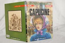 LES FILS DE L'AIGLE-CAPUCINE-FAURE VAXELAIRE BD 1988