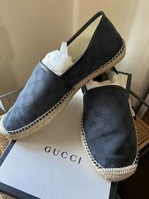 Gucci black  espadrilles mens 11 1/2
