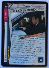 X-Files CCG Call On Us More Often Exclusive Promo Card