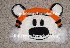 Custom Boutique Crocheted Hobbes from Calvin & Hobbes Hat Beanie
