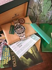 Mint Men's Rolex Submariner Ref. 16610 Box & Papers ~ A Serial 1-owner