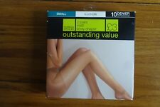 Marks and Spencer 2 Pair Pack 10 Denier Tights S Illusion