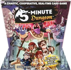 NEW 5 Minute Dungeon Game from Mr Toys