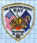 Fire Patch - Ray Fire Protection District Volunteer N.D. est 1911