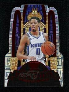 2020 Panini Crown Royale Royalty Asia Exclusive Red Tyrese Haliburton #6 Rookie