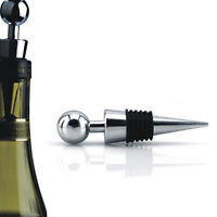 Elegant Function Metal Red Wine Bottle Stopper Cork Reusable Vacuum Sealed Gift