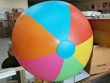 "2 Pack Jumbo Classic Multicolored Beach Ball 39"" Beach Ball, Summer Pool Party,"