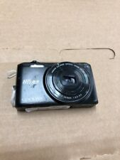 Nikon COOLPIX S6800 16MP Digital Camera - Black As Is For Parts