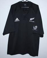 New Zealand national rugby union team shirt jersey Adidas - Size XL