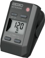 Seiko Dm51B Clip-On Metronome - Black