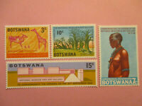 Botswana 1968 National Museum & Art Gallery   SG.244/247 Mint (MNH)