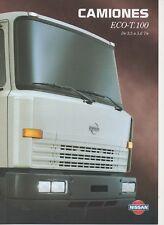 Ebro nissan eco-t.100 Truck (made in spain) _ 1998 folleto/brochure