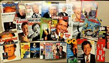 Massive Lot of David Letterman Magazine & Newspaper Articles SEE PHOTOS!