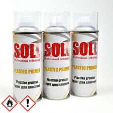 3x Kunststoffprimer Kunststoff Plastikprimer Plastik Grundierung Spray 400ml