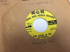 Roy Hamilton There She Is/The Panic Is On vinyl 45 RPM VG promo MGM soul