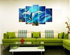 Wall Sticker Dolphin Design PVC Vinyl Home Decor Decal 33 X 21 Inch