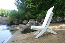Adirondack Beach Chair Plans - Portable, 2 Position, 2 Piece -Full Size Patterns