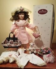 Ashton-Drake Galleries Porcelain Doll Deirdre 94611# in Original Box and Paper