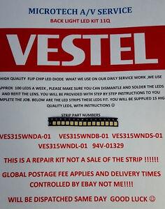 VESTEL VES315WNDA-01 VES315WNDB-01  VES315WNDS-01  VES315WNDL-01 25 PIECE LEDKIT