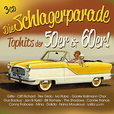 CD The Hit Parade Top Hits of the 50er and 60er by Various Artists 3cds