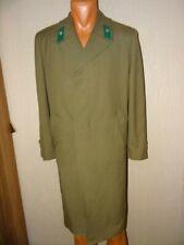USSR Soviet army daily long coat KGB border guard  Lieutenant officer 198X