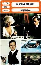 FICHE CINEMA : UN HOMME EST MORT - Trintignant,Ann-Margret 1973 The Outside Man