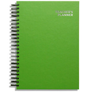 Pirongs A4 Academic Teachers' Planner 8 Lesson Day Edition - Choice of 45 Covers