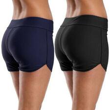 Fashion Womens Casual Swimming Bikini Bottom Tankini Shorts Swimwear Beachwear