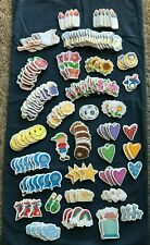 Chunky Embellishment HUGE LOT 164 Baby Flowers Angel Apple Sun Party Sports More