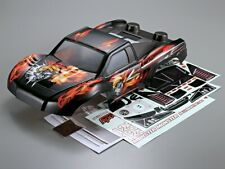 1/10 RC Short Course Truck MONSTER painted body Shell for Traxxas HPI AE Slash