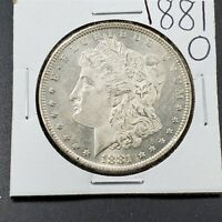 1881 O Morgan Silver Dollar Coin High Frosted Luster Choice BU Uncirculated Nice