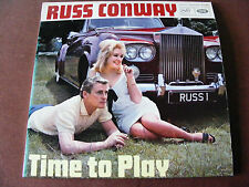 Russ   Conway   Time   To   Play   1966   LP   Vinyl   Record   On   MFP   Label
