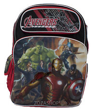 "Avengers Large 16"" School Backpack New"