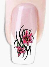 Tribal Blumen -86 Wraps Nail Art Tattoo Sticker Decal Fingernägel Fuß-Nägel Aufk