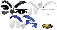 Ufo Plastic Kit Fits Yamaha Yz125 Yz250 2000-2001 Fender Plate Guard Shroud