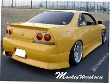 NEW DUCE NISSAN R33 SKYLINE GTS REAR BUMPER BAR BODY KIT/2 DOOR COUPE/QUALITY