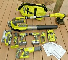 New ListingCordless Combo Kit Power Tools Set 18-Volt Lithium-Ion 8-Piece Carrying Bag