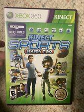 Kinect Sports: Season 2 (Xbox 360) Game