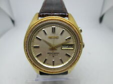 VINTAGE SEIKO BELLMATIC 4006-7020 DAYDATE GOLDPLATED AUTOMATIC MENS WATCH