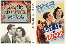 SAY IT IN FRENCH 1938 Ray Milland