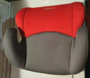 Cosco Highrise Belt Positioning Booster Car Seat, Red and Black, PRE-OWNED